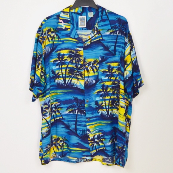 1fe3e2fc Ocean Current Vintage Men's Hawaiian Shirt XL. M_5c69e82fd6dc52c576061b9a